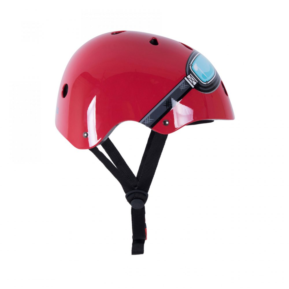 Helmet - Red Goggle