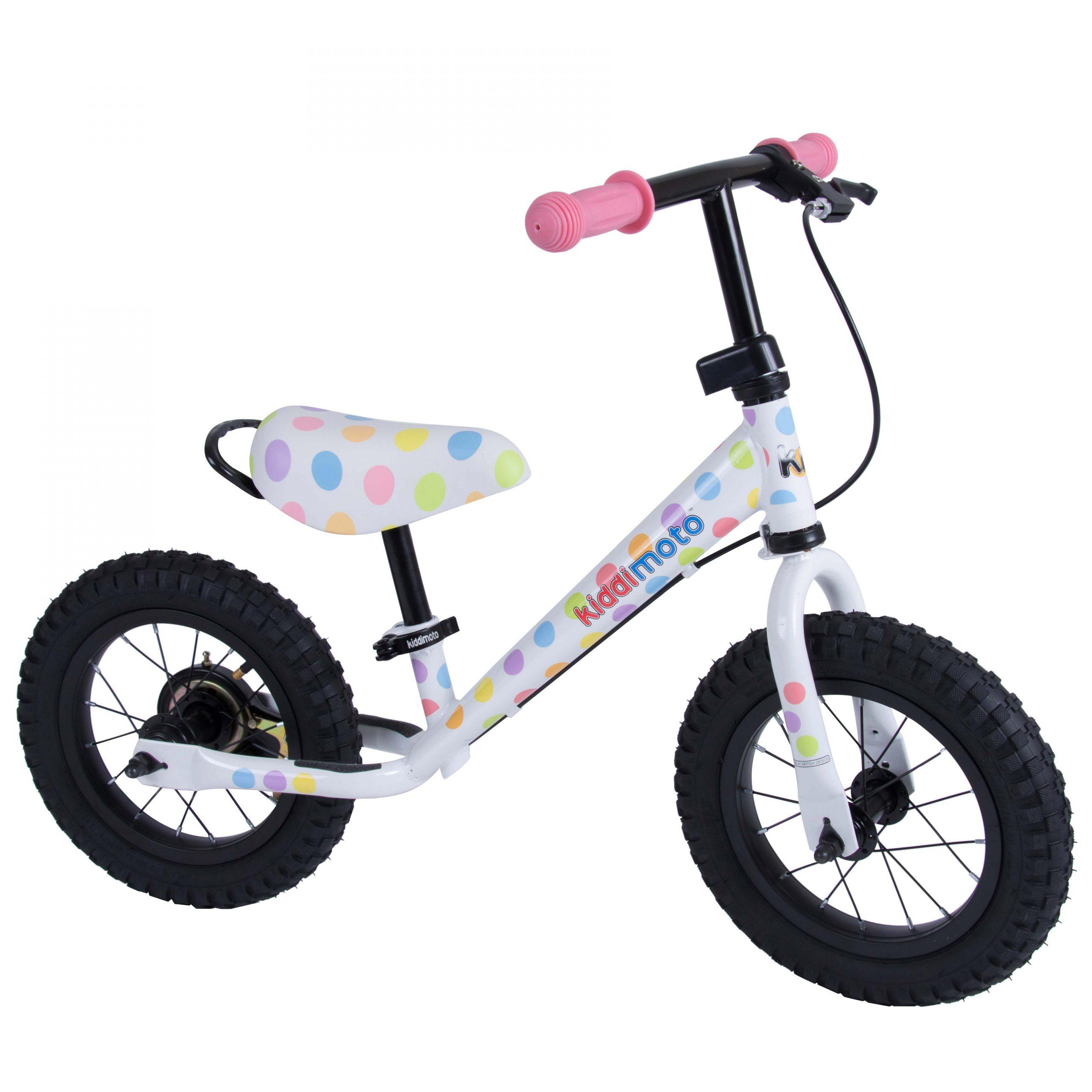Kiddimoto Bike Helmet Pastel Dotty